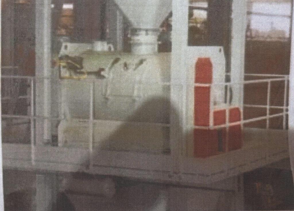 Tek Bunker Sistemli Bir Turbo Granülatör Ünitesi